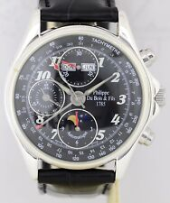 DuBois et fils Automatique Collection Musee Chronograph 925 Silber Calendar Mond