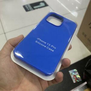 Original Liquid Silicone Case For iPhone 13 12 Pro 11 Pro Max XR XS Max 7 8 Plus