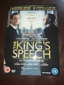 The Kings Speech DVD (New and Sealed)