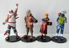 Lot De 4pcs Naruto Ninja Japan Anime Action Figure Figurine Neuf