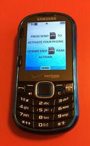 Samsung Intensity II SCH-U460 Blue Verizon Slider Cell Phone w/ QWERTY Keyboard