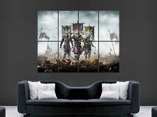 Samurai warrior poster vikings armée épées hache fantasy art mural photo