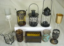 Gothic Glass Tea Light Votive Candle Holders Hurricanes & Lamps Candle Sticks