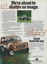 New Listing1978 International Harvester Ih Scout Ad V-345 Vintage Magazine Advertisement 78