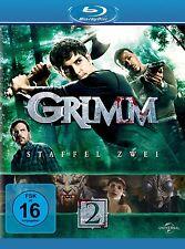 GRIMM-STAFFEL 2 5 BLU-RAY NEU