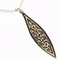 Beautiful Scottish 9ct Gold Celtic Knot Pendant Chain Necklace GIFT BOXED