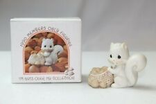 """Precious Moments Bc-902 1990 """"I'M Nuts Over My Collection"""" Mint In Orig Box #438"""