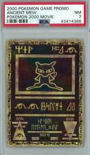 Pokemon 2000 Movie Promo Ancient Mew  PSA 7
