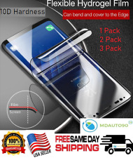 For Samsung Galaxy S10 S10e PLUS Full Cover HYDROGEL Film Soft Screen Protector