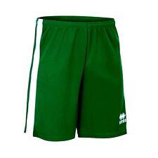 ERREA BOLTON Junior Pantaloncini Verde/Bianco taglia XS NUOVA CON ETICHETTA