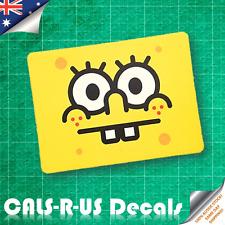 Spongebob Square Face Rabbit Teeth Luggage Skateboard Guitar Fridge Sticker