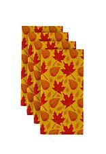 """Autumn Leaves 18"""" x 18"""" Napkins 1 Dozen"""