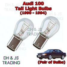 Audi 100 Tail Light Bulbs Pair of Rear Tail Light Bulbs Bulb C4 / 4A (90-94)