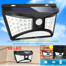 68 Solar LED Light Outdoor Garden Waterproof Wireless Security Motion 3 Modes