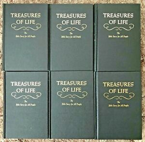 6 Volumes Treasures of Life Conflict of the Ages and Bible Readings for the Home