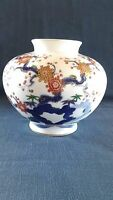 Japanese vase, Fukagawa porcelain, Imari, Mt. Fuji