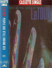 LaTour ‎People Are Still Having Sex CASSETTE SINGLE Electronic Tech House 1991