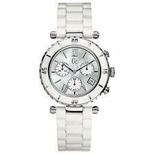 Guess Collection GC Women's Diver Chic Chronograph White Ceramic Watch G43001M1