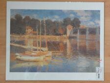 Bild, Kunstdruck, Claude Monet - Il Ponte Ad Argenteuil, Maestri della Pittura,