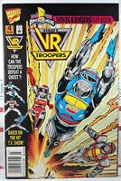 💥 NINJA RANGERS VR TROOPERS #4 NEWSSTAND VARIANT FLIPBOOK MARVEL Mighty Morphin