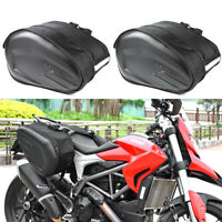 Motorcycle Motorbike Pannier Storage Side Bags Saddle Bags Rain Cover 36-58L Bag