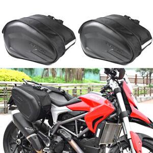 Motorcycle Motorbike Pannier Storage Side Bags Saddle Bags Rain Cover 36-58L Bag