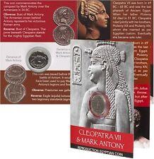 Cleopatra y Mark Antony moneda Pack-Galería Denario