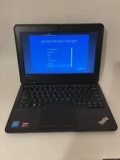"New listing Lenovo ThinkPad 11e 11.6"" Laptop G3 Celeron 4Gb Ram 128Gb Ssd Windows 10 Pro"
