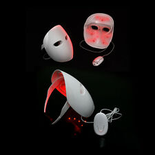2017 New Skin Rejuvenation LED Photon Light Therapy Facial Mask Red Color Lights