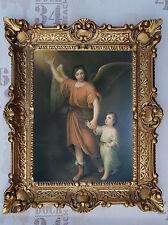 Gemälde Jesus Maria Ikonen Heiligenbild mit Rahmen 56x46 cm Religiöse Bilder 50