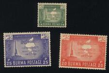 Burma STAMP 1953 ISSUED CHOICE OF BURMA MAP OR 6TH BUDDHISM  SET,MNH,  RARE