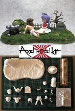 ANIME MODEL RESIN KIT - GHOSTS 'N GOBLINS (魔界村 Makaimura) DIORAMA SET