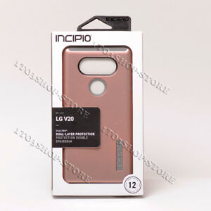 Incipio DualPro Dual-Layer Hardshell Case For LG V20 - Gold & Pink Rose & Black
