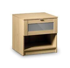 Julian Bowen Oak Bedside Tables & Cabinets with 1 Drawer