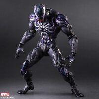 Play Arts Kai Marvel Comic Spider Man Venom 27cm Action Figure Toys NEW BOXED