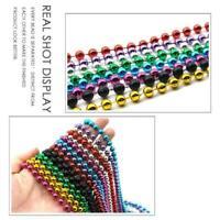 Frauen lange Perlenkette Halskette Sortiment 80cm sortierten Schmuck bunten I6E2