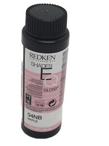 Redken Shades EQ Maple 04NB Demi-Perm Hair Conditioner Color 2 Oz.New