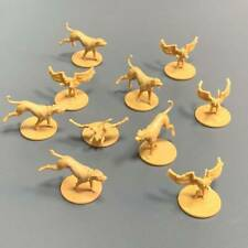 10 Pcs Dog wing Monster Game Figure Fit For Dungeons & Dragon D&D Miniatures