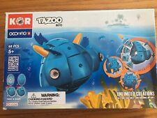 Geomag Kor TAZOO Beto FISH 68-pc Magnet Building Playset STEM Education SWISS EU