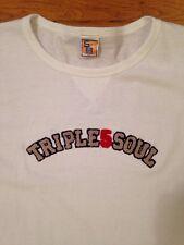 Vintage Triple 5 Soul T-Shirt (Size XL) White 1999 NYC Phat Farm Five