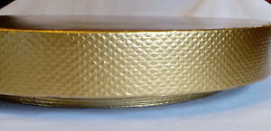 """16 inch or 18 inch """"Golden Reflections"""" Wedding Cake Stand, base, riser, plate"""