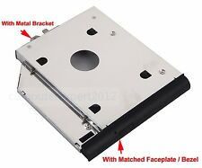 SATA 2nd HDD SSD Hard Drive Caddy Adapter for HP ProBook 6440b 6450b 6455b 6550b