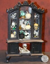 Dollhouse Miniature Halloween Witch Hutch 1:12 one inch scale F41 Dollys Gallery
