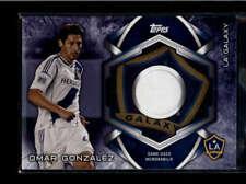 OMAR GONZALEZ 2014 TOPPS MLS GAME USED WORN JERSEY  AH8788