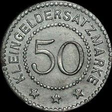 NOTGELD: 50 Pfennig. Funck 492.4A.a. SCHWERIN AN DER WARTHE / POSEN ⇒ SKWIERZYNA