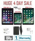 Apple iPad 2/3/4 Mini Air 16GB 32GB 64GB 128GB WiFi & Cellular Silver *** Bundle