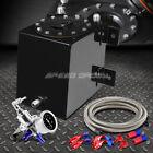 1 Gallon Coated Racing Fuel Cell Gas Tankcapline Kitpressure Regulator Red