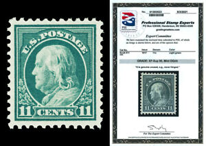 Scott 511 1917 11c Franklin Perf 11 Mint Graded XF-Sup 95 NH with PSE CERT!