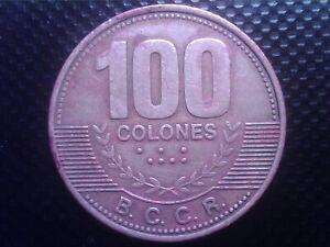 COSTA RICA   100   COLONES   2007      BIG COIN   JUL19