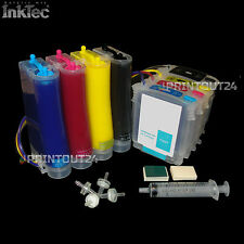 Continuous Ink System refill ink for HP 940XL BK Y M C OfficeJet Pro 8000 8500a